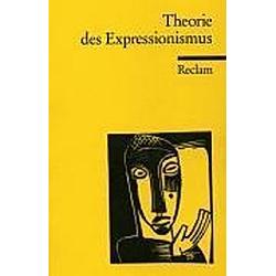 Theorie des Expressionismus - Buch