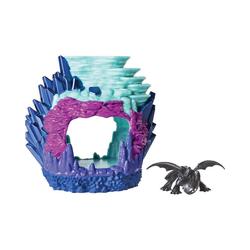 Spin Master Sammelfigur Dragons - Ohnezahn Drachenhort
