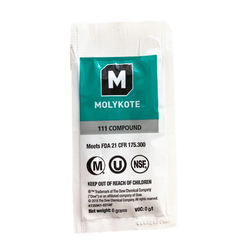 Silikonfett Molykote 111 Compound - eine Tüte zu 6g