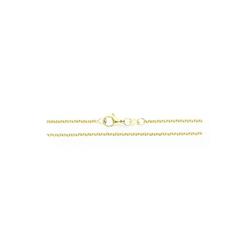 JuwelmaLux Collier Erbs Collierkette 40 cm