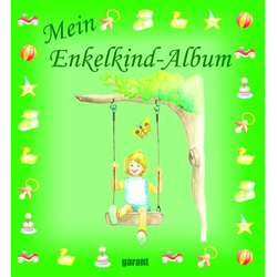 Mein Enkelkind-Album als Buch von