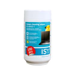 ISY ICL-6450-1 Reinigungstücher Weiß