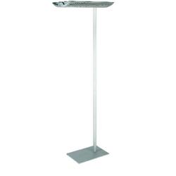 Maul Maioris Deckenfluter Energiesparlampe 2G11 110W Silber