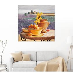 Posterlounge Wandbild, Provenzalisches Gedeck 70 cm x 70 cm
