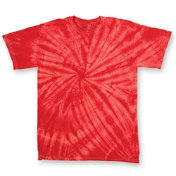 Cyclone Youth T-Shirt | Dyenomite Red Cyclone XS