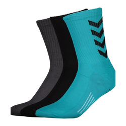 hummel Sportsocken Fundamental Socks 3-Pack Socken blau 8 (32-35)