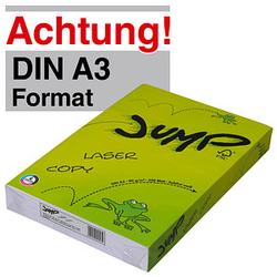 JUMP Kopierpapier COPY/LASER DIN A3 80 g/qm 500 Blatt