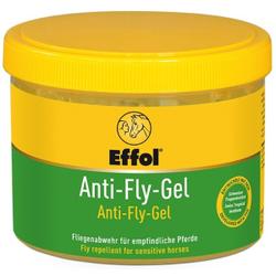 Effol Anti-Fly-Gel Insektenabwehrgel, Insektenschutzgel für stark schwitzende und sensible Pferde, 500 ml - Dose mit Schwamm