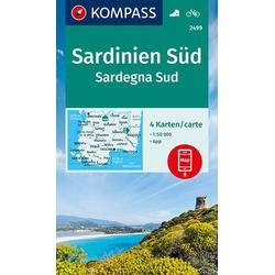 Sardinien Süd Sardegna Sud 1:50 000