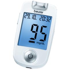 BEURER GL40 Blutzuckermessgerät mg/dl codefree 1 St