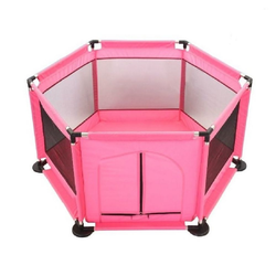 JOKA international Bällebad Bällebad /Kubelbad in Pink ohne Bälle