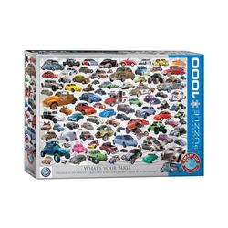 empireposter Puzzle Bunte VW Käfer Welt - Welcher ist deiner? - 1000 Teile Puzzle Format 68x48 cm., 1000 Puzzleteile