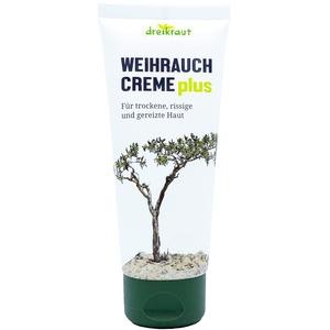 Weihrauch Creme plus - dreikraut, 100ml, extra viel Boswellia-Extrakt, Arnika, Ingwer u. Avocado-Öl, deutsche Herstellung