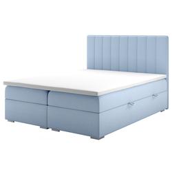 Łóżko kontynentalne z pojemnikiem Hunbert
