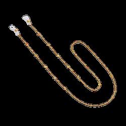 Brillenkette Rainbow Stones Gold