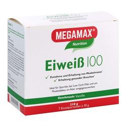 EIWEISS 100 Vanille Megamax Pulver 7X30 g