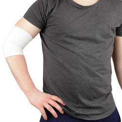 Bestlivings Hallux-Bandage, 1-tlg., Ellenbogenbandagen in weiß, Gelenkschoner Schutz Schoner für Ellenbogengelenk Unisex weiß