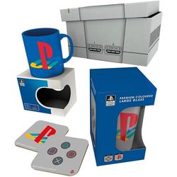 GB eye Geschirr-Set PlayStation - Gift Box - Geschenk Set (4-tlg)