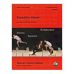 Expedition Klavier  m. Audio-CD - Buch