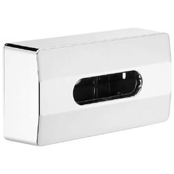 Nie wieder bohren Feuchttücherbox Pro V2 (1 Stück), hochglanzverchromt