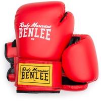 BENLEE Rocky Marciano Rodney Boxhandschuhe, Red/Black, 6
