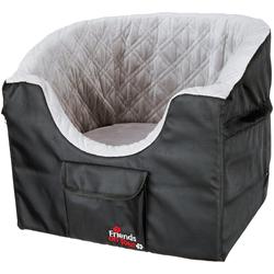 TRIXIE Hunde-Autositz, für kleine Hunde, BxL: 45x42 cm schwarz Hundebetten -decken Hund Tierbedarf Hunde-Autositz