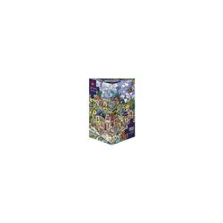 HEYE Puzzle Puzzle Happytown, Berman, 1.500 Teile, Puzzleteile