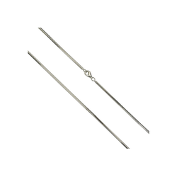 Vivance Collier 925/- Silber Schlangenkette diamantiert, Collier