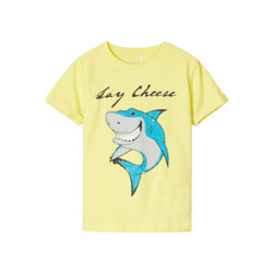 name it T-Shirt NMMVUX Limelight