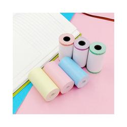 Gotui Druckerpapier, 6 Rollen 57x30mm Thermopapierdrucker RollenpapiereFür PeriPage A6 Taschendrucker