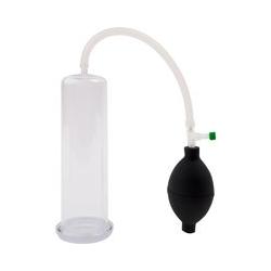 Penispumpe, glasklar, mit Ballpumpe
