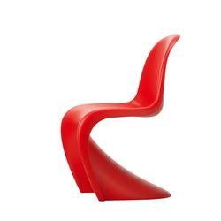 Vitra Freischwinger Panton Chair rot, Designer Verner Panton, 86x50x61 cm