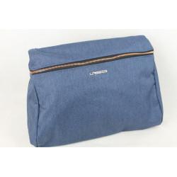 Lässig Wickeltasche Wickelrucksack Glam Rosie Bag Blau