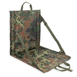 bw-online-shop Faltbares Sitzkissen mit Lehne flecktarn