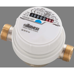 Allmess Aufputzwasserzähler 6EKB1580B40NBA EVK 3/80V, Q3 2,5, DN 15, 80mm, TU6+m