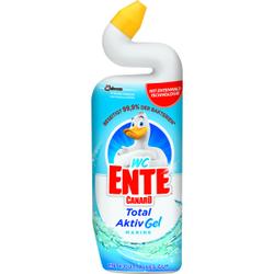 WC-Ente 5 in 1 WC Reiniger-Gel , 750 ml - Flasche mit dem einzigartigen Entenhals, WC Ente Aktiv Gel