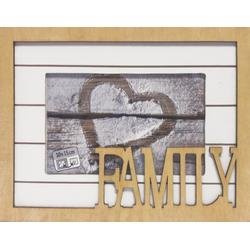 Fotorahmen FAMILY(BHT 23x18x1 cm)