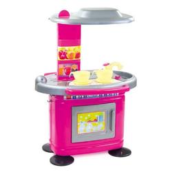 Mochtoys Spielküche Kinderküche 67 cm 11085 Kunststoff, in rosa mit Spülbecken und Backofen zum Öffnen