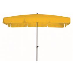 Doppler WATERPROOF III wasserdichter Sonnenschirm 260 x 150cm gelb