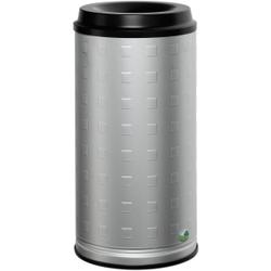 VAR Papierkorb 20 l Standgerät, Aluminium, eloxiert