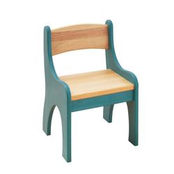 BioKinder - Das gesunde Kinderzimmer Stuhl Levin, für Kinder, Sitzhöhe 30 cm blau