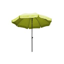 Ribelli Sonnenschirm, Sonnenschirm, hellgrün, 240 cm grün