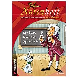 Little Amadeus Notenheft (Blanko-Notenheft) - Buch