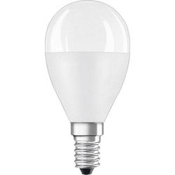 OSRAM LED EEK A+ (A++ - E) E14 Tropfenform 8.00W = 60W Warmweiß (Ø x L) 45mm x 90mm 1St.