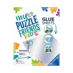 Ravensburger Puzzle My Puzzle Friends Glue Sheets, Puzzle-Klebefolie, Puzzleteile