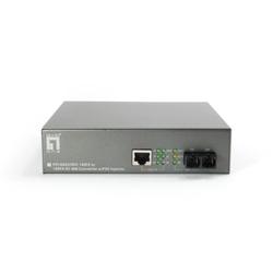 LevelOne FVT-0203TXFC RJ45 to SC Fast Ethernet Media Converter