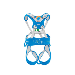 Petzl Kinderklettergurt Ouistiti Gurtfarbe - Blau, Gurtart - Kindergurt, Gurtgewicht - 401 - 500 g, Gurtgröße - Universal,