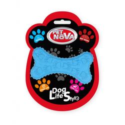 Hundespielzeug Kauspielzeug DENTBONE-BL Kauspielzeug Knochen Rindfleisch Geschmack 10,5cm blau