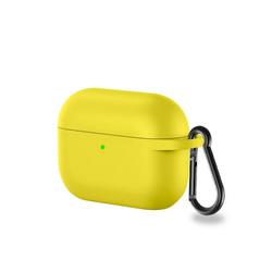 CoverKingz Etui Hülle für Apple AirPods 3 / AirPods Pro Silikon Case Cover Bumper Tasche Gelb Apple AirPods Pro / AirPods 3 gelb