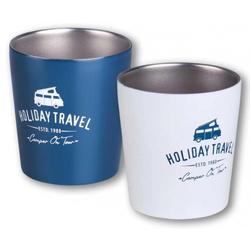 Holiday Travel Edelstahl Kaffeebecher 0,3l